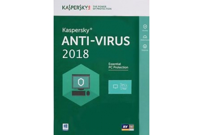 Kaspersky Anti Virut 3PCS 2018