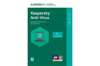 Kaspersky Anti Virut 1PC 2018